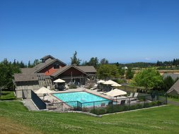 Pool at Solana in Sequim
