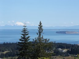 View from Solana Estates in Sequim